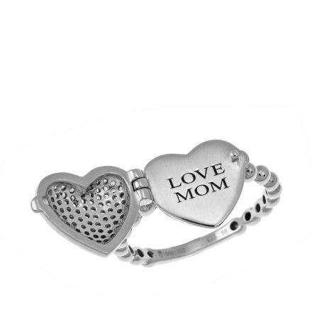 Locket Heart Ring