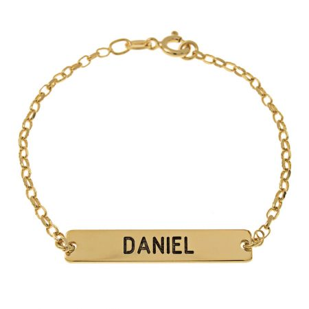 Dainty Bar Name Bracelet