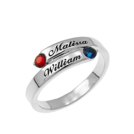 Custom Wrap Promise Ring