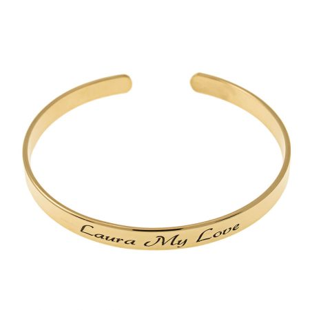 Open Name Bangle