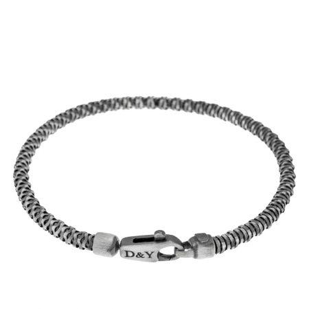 Men's Matte Bracelet with Initials