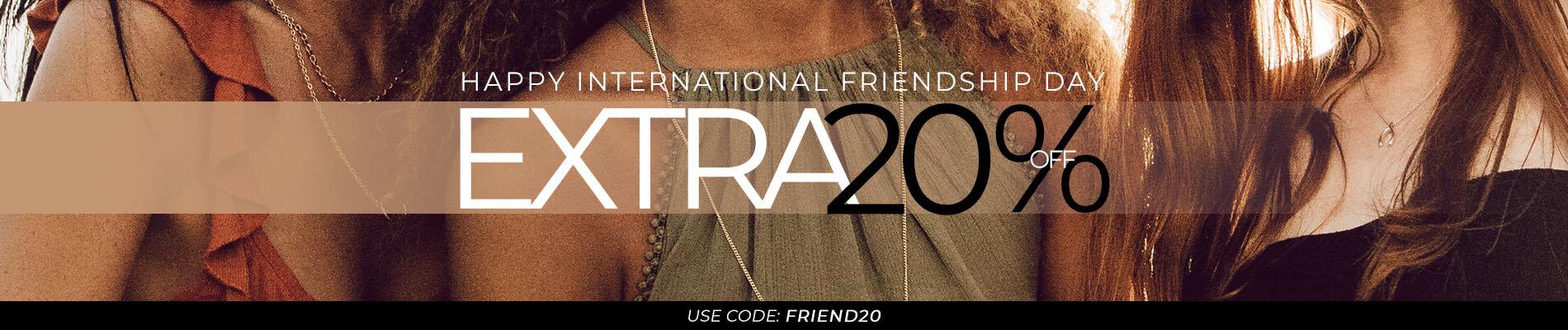 Friendship Day 30.07.20 Top banner desktop