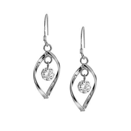 Drop Earrings with Cubic Zirconia