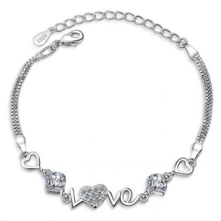 Love Inlay Bracelet