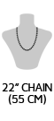 Necklace icon 22''