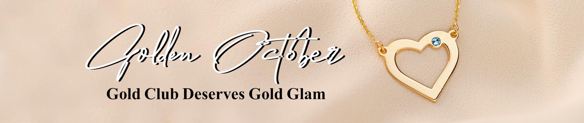 Golden October desktop banner