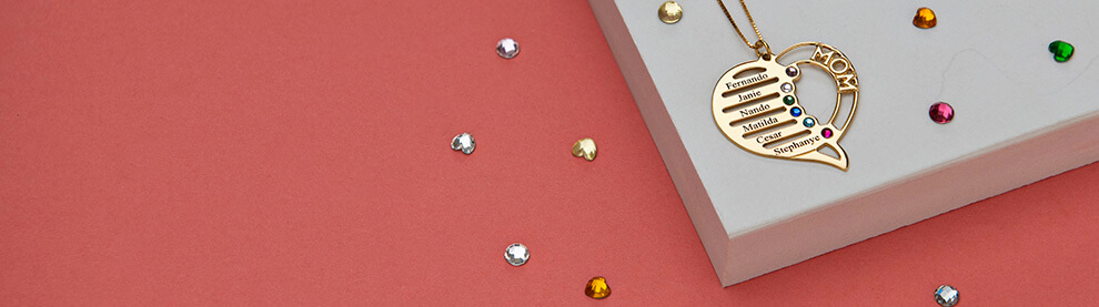 Birthstone Necklaces mobile banner