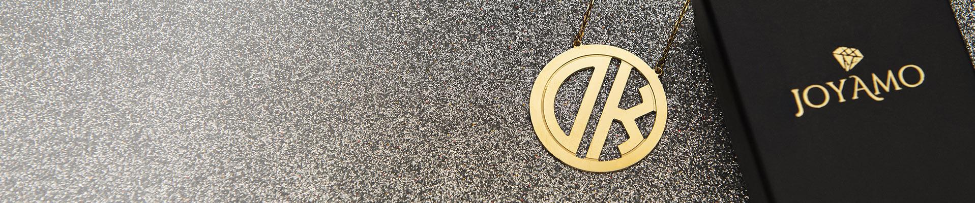 Monogram Necklaces descktop baner